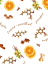 Napkin Mulled Wine - Pattern variant: Mulled wine white